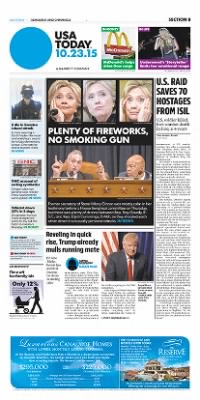 Democrat and Chronicle from Rochester, New York on October 23, 2015 · Page B1