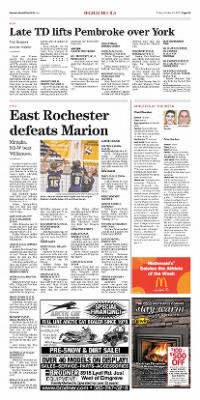 Democrat and Chronicle from Rochester, New York on October 23, 2015 · Page D3