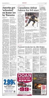 Democrat and Chronicle from Rochester, New York on October 24, 2015 · Page D7
