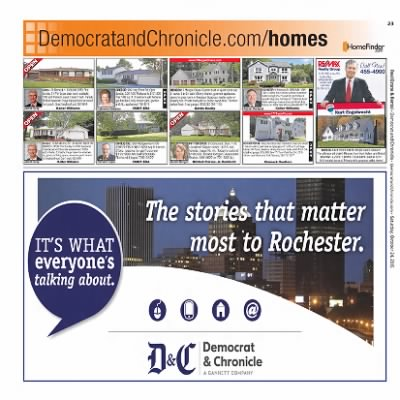 Democrat and Chronicle from Rochester, New York on October 24, 2015 · Page G23