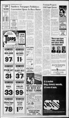 The Palm Beach Post from West Palm Beach, Florida on November 19, 1968 · Page 4