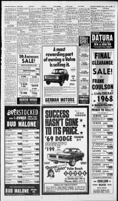 The Palm Beach Post from West Palm Beach, Florida on November 19, 1968 · Page 31
