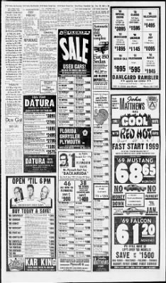 The Palm Beach Post from West Palm Beach, Florida on November 23, 1968 · Page 33