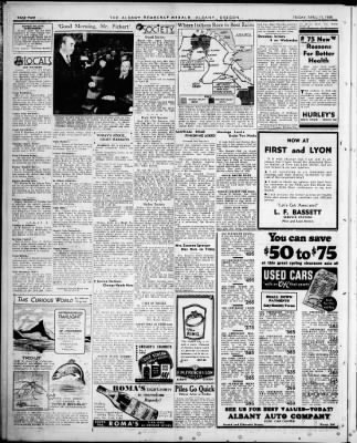 Albany Democrat-Herald from Albany, Oregon on April 17, 1936 · Page 2