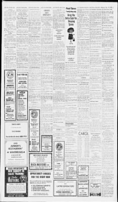 The Palm Beach Post from West Palm Beach, Florida on November 25, 1968 · Page 43