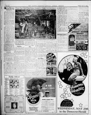 Albany Democrat-Herald from Albany, Oregon on May 15, 1936 · Page 6