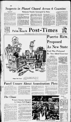 The Palm Beach Post from West Palm Beach, Florida on January 1, 1977 · Page 1