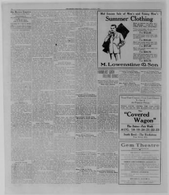 The Bremen Enquirer from Bremen, Indiana on August 7, 1924 · Page 4