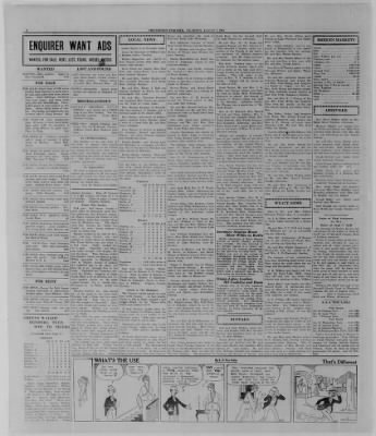 The Bremen Enquirer from Bremen, Indiana on August 7, 1924 · Page 8