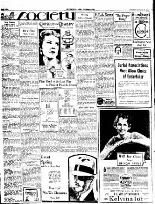 The Courier News from Blytheville, Arkansas on March 19, 1934 · Page 2