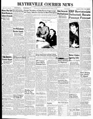 The Courier News from Blytheville, Arkansas on March 13, 1948 · Page 1