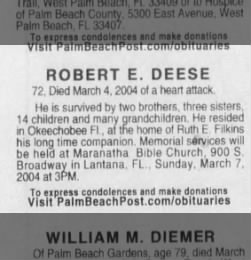 The palm beach post from west palm beach florida on march 6 2004 what members have found on this page malvernweather Images