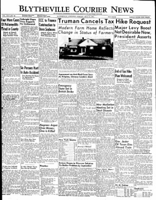 The Courier News from Blytheville, Arkansas on July 11, 1949 · Page 1