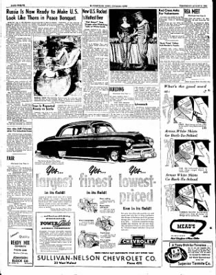 The Courier News from Blytheville, Arkansas on August 8, 1951 · Page 12