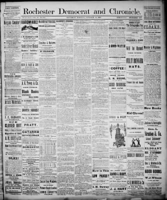 Democrat and Chronicle from Rochester, New York on October