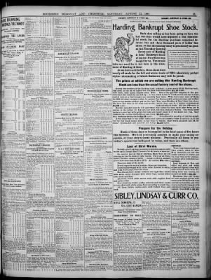 Democrat and Chronicle from Rochester, New York on August 31, 1901 · Page 15