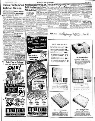 The Courier News from Blytheville, Arkansas on August 9, 1951 · Page 3