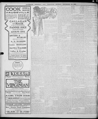 Democrat and Chronicle from Rochester, New York on November 15, 1903 · Page 16