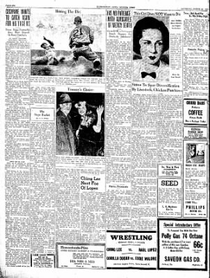 The Courier News from Blytheville, Arkansas on March 26, 1938 · Page 6