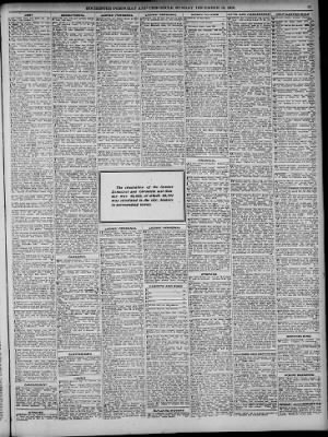 Democrat And Chronicle From Rochester New York On December 15 1918