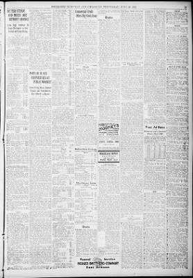 democrat and chronicle from rochester new york on july 10 1929