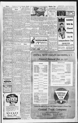 Democrat and Chronicle from Rochester, New York on July 3, 1956 · Page 7