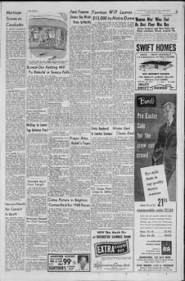 Democrat and Chronicle from Rochester, New York on March 6, 1959 · Page 9