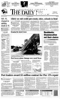 The Galveston Daily News from Galveston, Texas on August 24, 1999 · Page 1