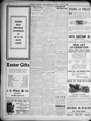 And chronicle from rochester new york on april 8 1906 page 18 democrat and chronicle from rochester new york on april 8 1906 page 18 negle Images