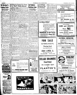 The Courier News from Blytheville, Arkansas on April 24, 1946 · Page 6