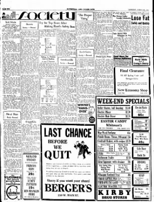 The Courier News from ,  on March 22, 1934 · Page 2