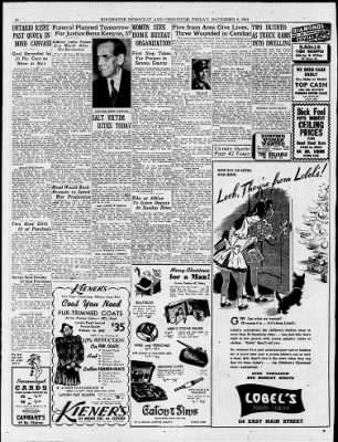 Democrat and Chronicle from Rochester, New York on December 8, 1944 · Page 44
