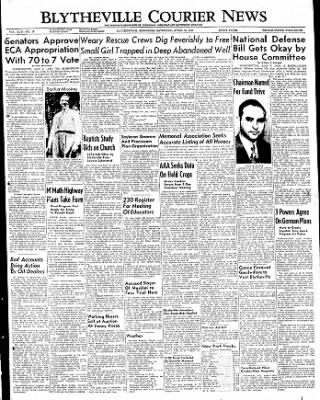 The Courier News from Blytheville, Arkansas on April 9, 1949 · Page 1
