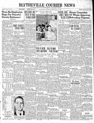 The Courier News from Blytheville, Arkansas on July 21, 1939 · Page 1
