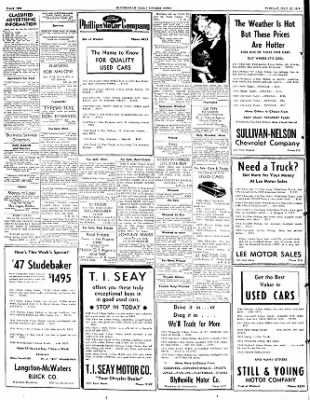 The Courier News from Blytheville, Arkansas on July 12, 1949 · Page 10