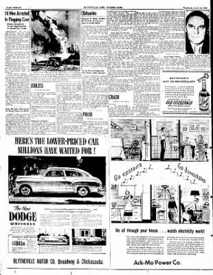 The Courier News from Blytheville, Arkansas on July 12, 1949 · Page 12
