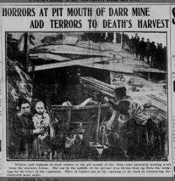 Horrors at Pit Mouth of Darr Mine