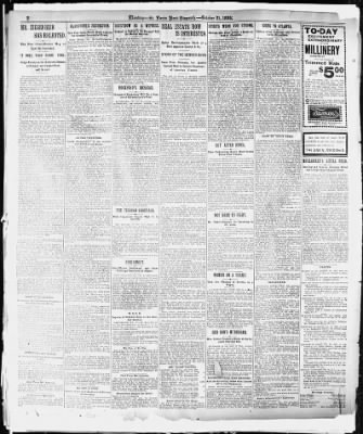 Louis Post-Dispatch from St. Louis, Missouri on October 21, 1895 ...