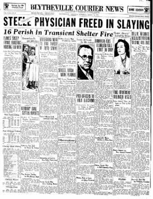 The Courier News from Blytheville, Arkansas on March 24, 1934 · Page 1