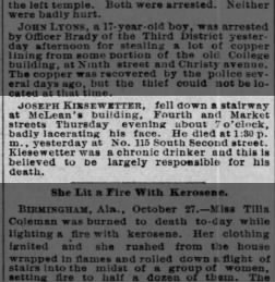 St  Louis Post-Dispatch from St  Louis, Missouri on October 28, 1888