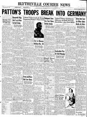 The Courier News from Blytheville, Arkansas on November 18, 1944 · Page 1