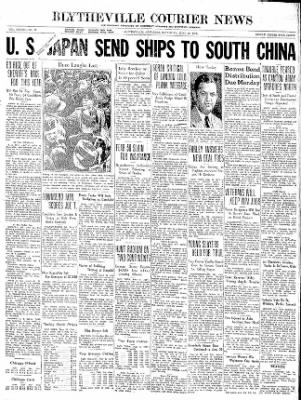 The Courier News from Blytheville, Arkansas on June 13, 1936 · Page 1