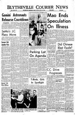 The Courier News from Blytheville, Arkansas on May 10, 1966 · Page 1