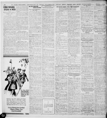 Kare Stehle louis post dispatch from st louis missouri on april 24 1918 page 14