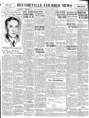 The Courier News from Blytheville, Arkansas on December 23, 1930 · Page 1