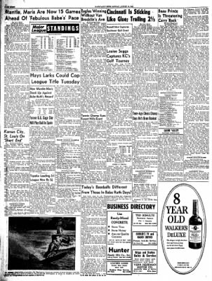 The Hays Daily News from Hays, Kansas on August 14, 1961 · Page 8
