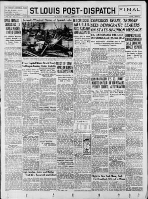 St. Louis Post-Dispatch from St. Louis, Missouri on January 3, 1950 · Page 1