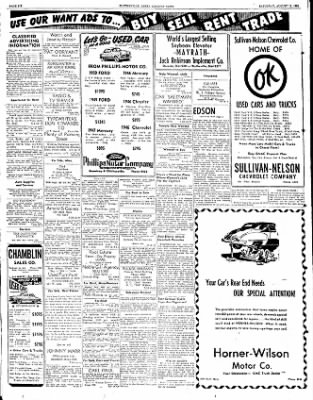 The Courier News from Blytheville, Arkansas on August 11, 1951 · Page 6