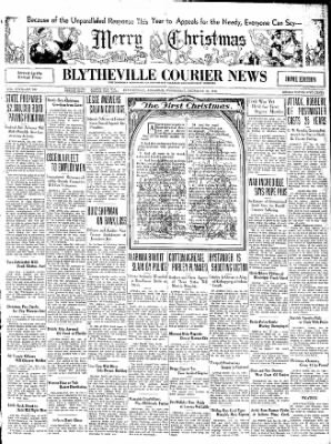 The Courier News from Blytheville, Arkansas on December 24, 1930 · Page 1