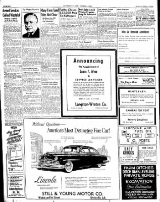 The Courier News from Blytheville, Arkansas on April 12, 1949 · Page 6